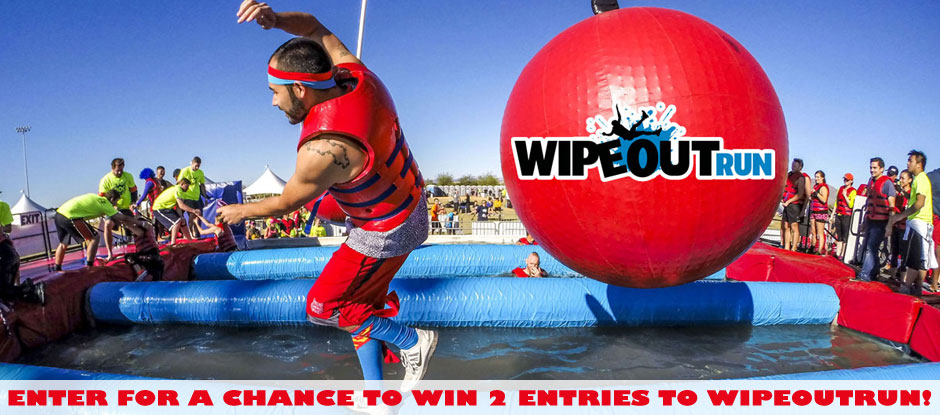 I Wiped Out! The WIPEOUTRUN Giveaway Contest!