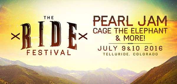 Pearl Jam Takes Over Telluride Music Festival
