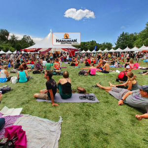 A weekend of yoga at Hanuman Festival in Boulder.