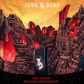 Zeds Dead at Red Rocks