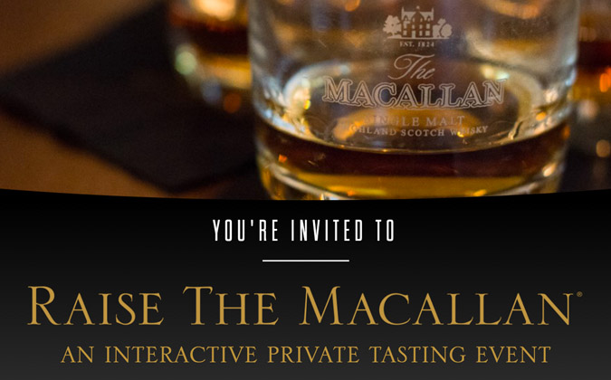 Raise The Macallan Tasting Event